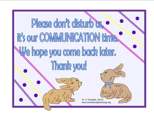 door sign freebie communication